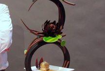 Rzeźby czekoladowe