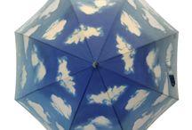 Assorted Umbrella Prints / an assortment of umbrella prints