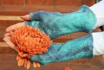 """I guanti senza dita """"MITENKI"""" / I guanti senza dita """"MITENKI"""" (per inverno)"""