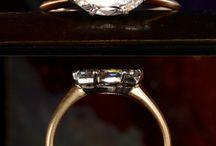 Marquis cut rings