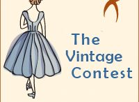 The Vintage Contest / A place to gather ideas for the contest and to share the projects our members enter!  2014 rules - Sew a garment using a Vintage Pattern. For the purposes of this contest a pattern is considered Vintage if it was issued and printed BEFORE 1980.  / by PatternReview
