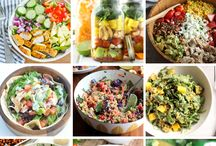 salads protein