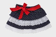 falda para niñas