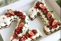 Food - Cake numbers & letters