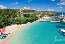 Sandals Grande Riviera / Discover a sprawling paradise where the foliage is so rich and luscious, with a veritable rainbow of flowering trees and plants, that it's easy to escape the cares of the outside world. From a tranquil mountaintop to the white sand beach to the fairways of the championship golf course, this Ocho Rios resort and spa is surrounded by the incredible natural beauty of Jamaica.