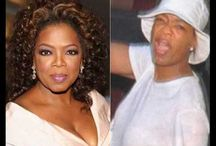 Oprah and Jay Z - seperated at birth