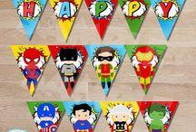 Aniversário De Super-herói