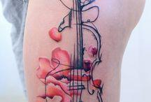 Tatuaje violin