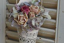 deco floreros vintage