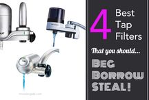 Best Faucet / Tap Water Filter / The best faucet water filter is something every home needs. Affordable, 1-click install and filters on demand. Here is why you should STEAL my top pick. Best Faucet / Tap Water Filter.