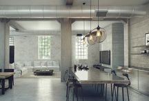Industrial   Emmajanedesign / Showcasing my favourite industrial interiors and decor for the home.