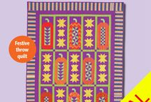 Halloween & Fall Quilts / Pumpkins, leaves, deep hues. Look here! / by Quiltmaker