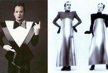 Black and White Style Icons / Costume inspiration for the Black and White Ball - Monochrome Masquerade