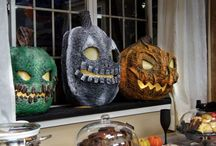 Jack o lanterns / Halloween paper machine