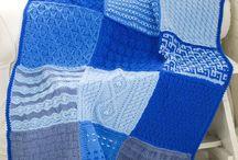 knit sample afghan