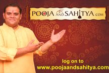 """Pooja of Poojaandsahitya / """"#Pooja"""" is One of the most undivided part of our day to day life and we all perform different kinds of Pooja or #Dharmik_Vidhi.  just call on : 8087758080 or visit on : http://www.poojaandsahitya.com/pooja"""