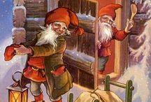 Vanhat joulukortit