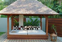 daybeds bali hut