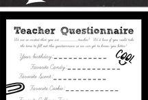 Teacher gift ideas / by Jodi Lippert