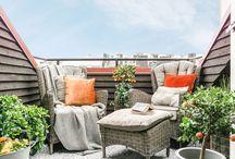 Балкон / Вдохновляющие идеи для организации балкона для отдыха