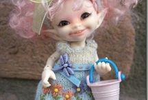 panenky skřítci