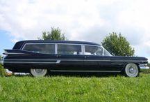 hearse cars / Photos of hearse cars / by ChasingAsphalt