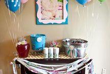 1st Birthday ideas / by Kristi Merida Miller