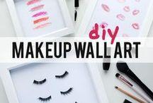 make up wall art