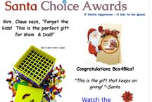 BOX4BLOX Awards / Awards and recognitions received by BOX4BLOX which makes organizing Lego, K'Nex and other plastic bricks really easy and fast.