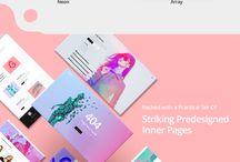 illustration portfolio layout