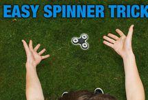 fidget spinner / sztuczki, ciekawostki o fidget spinner  fidget spinner tricks
