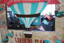 Hot air balloon classroom