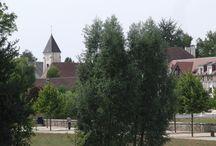Magny-le-Hongre, France / Magny-le-Hongre est une ville située près de Disneyland Paris (Seine-et-Marne de la région Île-de-France)