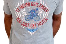 Cyclists quotes. ...T Shirts etc