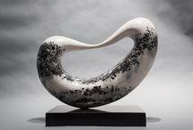 Bridge / 'Bridge' is an abstract sculpture by Jeremy Guy