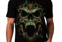 Skull and Goth / Skull, goth, rocker, steampunk and skeleton t-shirts, tanktops, and hoodies, and inspiriation. https://www.wellcoda.co.uk/ / by Wellcoda Apparel