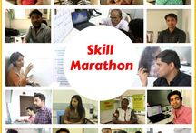 Skill Marathon 2016 / Skill Marathon was a unique fun way to bring in social change by contributing your skills on a single Saturday.   Skill based volunteering helps NGOs meet talent needs and amplify the impact of their work. By choosing to work on a skill based project, you will contribute to improving the efficiency of the participating NGOs.