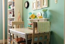 Home Decor: Small Spaces / We all have that little nook in our homes that needs some creative inspiration!
