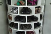 shoe organizer / by Jane Yatan