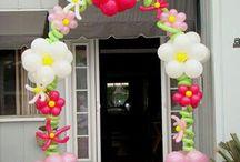 bloemenballonnen maken