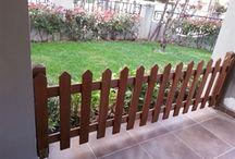 Ahşap çit / ahsapali.com