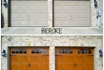 Clopay BEFORE and AFTERS! / by Thomas V. Giel Garage Doors