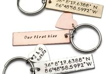 Custom Coordinates Gifts / Coordinate jewelry and gifts are a personal and unique way to remember the special places you've been in your life.