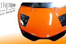Lamborghini Murcielago desk / Lamborghini Murcielago desk, Inferno design