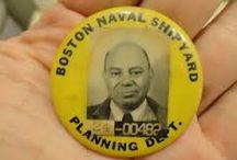 Vintage American Employee Work Badges