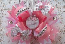 Laces bows flowers