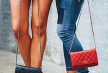 Bags and shoes alike / Shoes defines any outfit to suit the mood