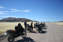 South Africa / Namibia Motorbike Tour / You ride the best tarred and untarred roads of South-Africa and Namibia with this motorcycle tour. Camping enables you to sleep at the most beautiful spots possible, but not without comfort: we put up your tent for you and a couple of hotelnights mean you can relax. Suitable for the more experienced rider, either with or without a pillion.