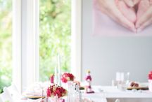 Pink baptism by Diana Ousdal / Baptism styled by me