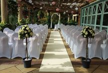 Aisle Carpet Runner / High quality and luxury feel Wedding Carpet Aisle Runner is available for hire across Harrogate, York, Knaresborough, Ripon, Wetherby and the surrounding areas.  Our 10m cream wedding aisle carpet runner is perfect for wedding ceremony use and is supplied with non-slip underlay to ensure safe use.  Perfect for providing a focal point for your ceremony, the wedding aisle carpet runner beautifully enhances your ceremony space and adds a stylish and sophisticated look.